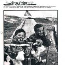 TRAVLTIPS Freighter Bulletin magazine-booklet-January 1976-Lykes Line-Moore-MC +