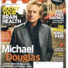 AARP Magazine March 2010 - Michael Douglas -Boost Brain Health -Knee Pain-Panini