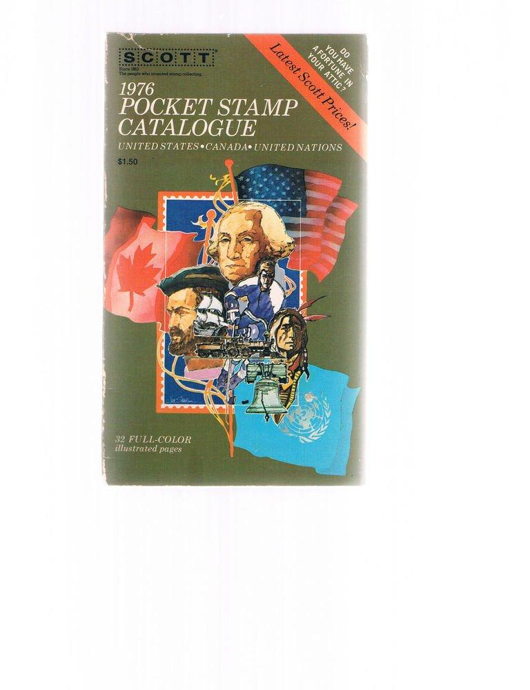 Scott 1976 Pocket Stamp Catalogue-catalog-United States -Canada - United Nations