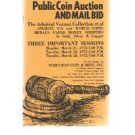 SCHULMAN Coin Auction Catalog 27 March 1972 -Admiral Vernon Collection -US-World