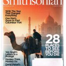SMITHSONIAN Magazine January 2008 -Van Gogh-1908 Year Of Change -Norman Mailer +