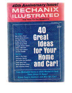 MECHANIX ILLUSTRATED November 1968 - 40th Anniversary-Home-Car-1928 Model A FORD