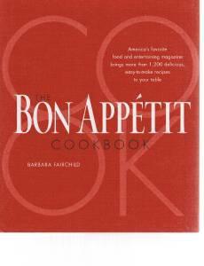 BON APPETIT COOKBOOK by Barbara Fairchild - 1200+ Easy To Make Recipes
