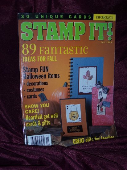 Stamp It!  Fall  2004