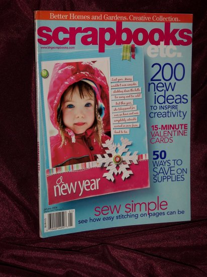 Scrapbooks Etc. Jan. 2006 from Better Homes & Gardens Creative Collection