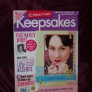 Creating Keepsakes Scrapbooking Magazine April 2006