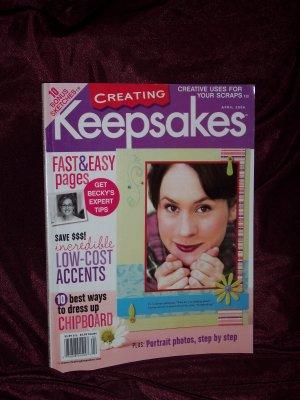 Creating Keepsakes Scrapbooking Magazine April 2006