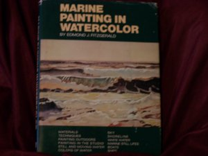 Marine Painting in Watercolor by Edmond J. Fitzgerald