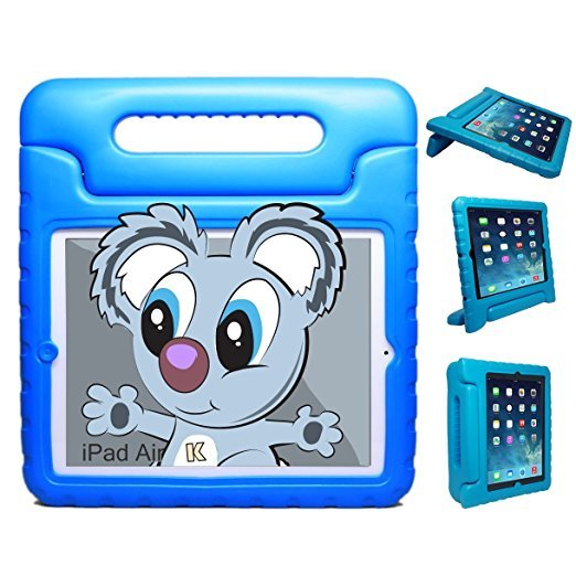 Kids Protective Cover Case with Stand & Handle for Apple iPad Air 5th Generation 2013 Blue