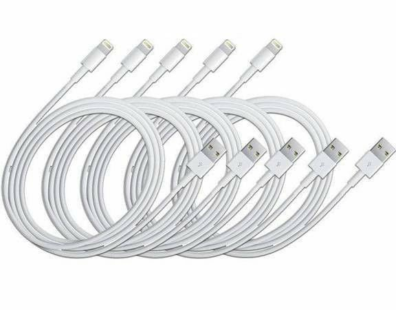 5x OEM Genuine USB Lightning Cable Charger for iPhone 6 6 Plus 5 5s 5c