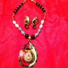 Brand New Indian Necklace Colorful Set