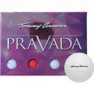 Tommy Armour Women's Pravada Golf Balls - 12 Pack-White/Pink