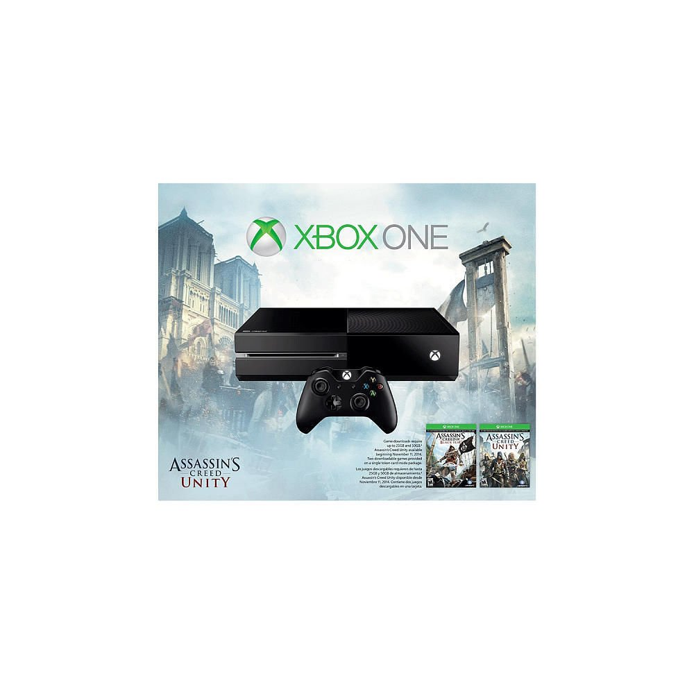 Xbox One Assassin's Creed Bundle w/ Assasin's Creed IV: Black Flag & Unity
