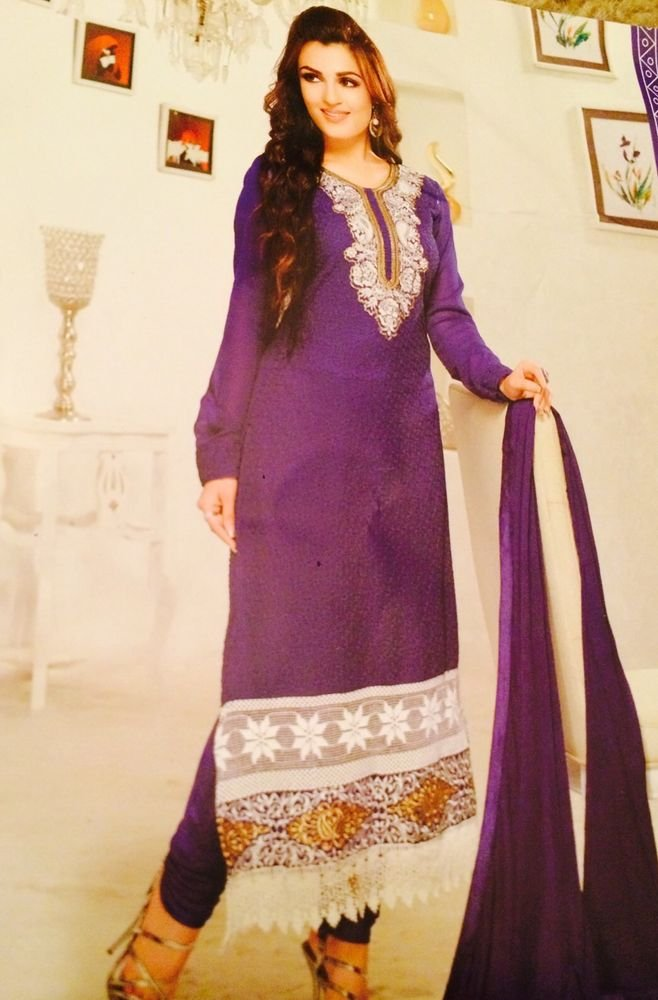 Bollywood Style Readymade Designer Indian Suit