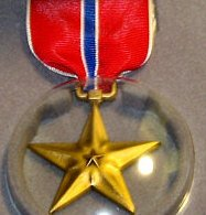 Bronze Star Cased Decoration Set military issue 1991