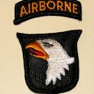 101st Airborne patch + tab, mint condition