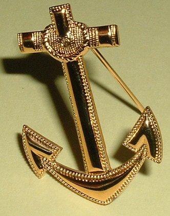 Anchor Insignia Naval Aviation Cadet Vietnam era