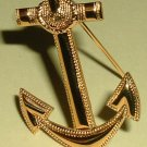 Anchor Insignia Naval Aviation Cadet Vietnam era