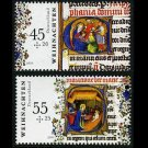 Germany 2009 Christmas, set of 2 stamps, mnh