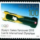 Switzerland Vancouver 2010 Olympics and Paralympics, set of 2