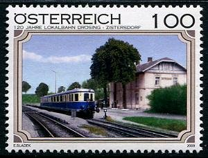 Austria Locomotive, new issue set of 1 stamp, mnh