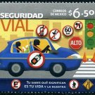 Mexico Road Safety, new issue stamp,mnh