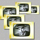 Dragnet, 5 TV Memories Postcards, mint