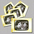 The Honeymooners, 5 TV Memories Postcards, mint