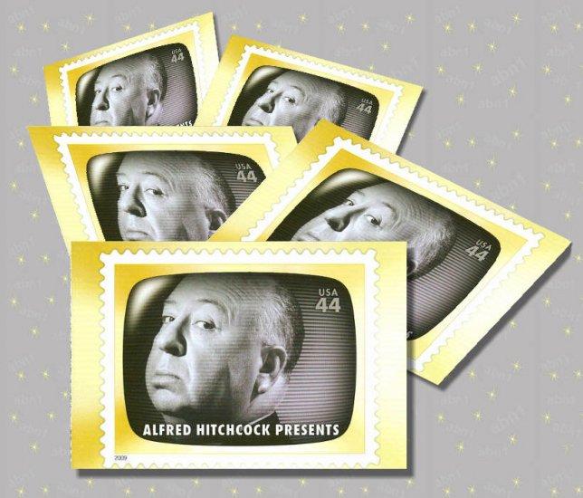 Alfred Hitchcock Presents, 5 TV Memories Postcards, mint