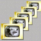 Lassie, 5 TV Memories Postcards, mint