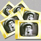 The Phil Silvers Show, 5 TV Memories Postcards, mint