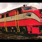 Green Bay & Western ALCO locomotive, Railroad postcard c47