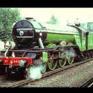 London & North Eastern Railway steam locomotive, Railroad postcard