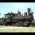 Louisiana Cypress Lumber Company steam locomotive, Railroad postcard