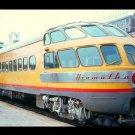 Milwaukee Road Hiawatha passenger train, Railroad postcard