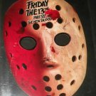 Friday the 13th Part VII Mask, paper, promo item