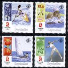 Beijing Olympics 2008 Seychelles set of 4 stamps, mnh