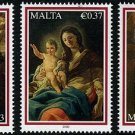Malta Christmas 2009 Set of 3 Stamps, mnh