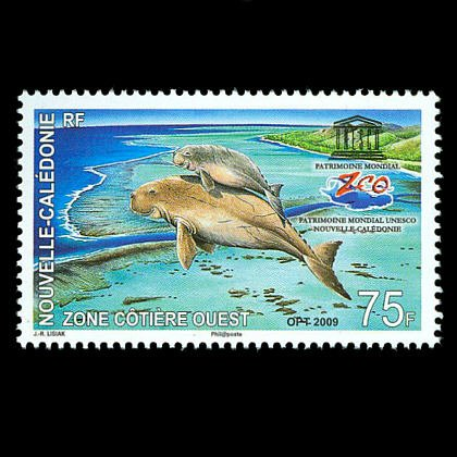 World Heritage Site - Lagoons, New Caledonia, mnh