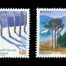 Greenland Forests 2011 Europa Issue set of 2 stamps, mnh
