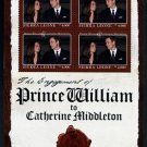 William & Kate Royal Wedding Sierra Leone mini sheet + souvenir sheet