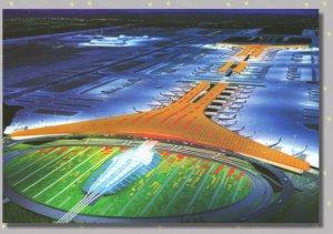 Beijing Capital International Airport Terminal 3 China Airlines Postcard