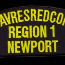 Naval Reserve Readiness Command Region 1 Newport RI embroidered patch