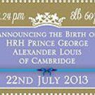 Birth of HRH Prince George Alexander Louis Isle of Man