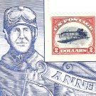 $2.00 inverted Jenny single on souvenir sheet, mint self-adhesive