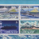 World War II Warships Souvenir Sheet mnh Gibraltar 1995