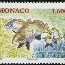 National species fish Brown meagre mnh stamp 2016 Monaco