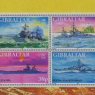 World War II Warships Souvenir Sheet mnh Gibraltar 1997