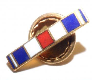 Silver Star Lapel Pin screw-post attachment  U.S. Army U.S. Air Force