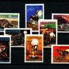 African Animals mnh 8 stamps 1979 Libya #797-804 Tortoise Cheetah Antelope Camel